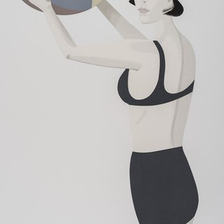 Alex Katz, Chance 1 (Vivien)