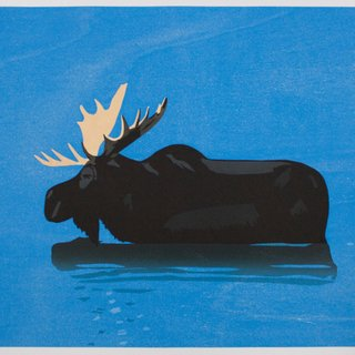 Moose art for sale