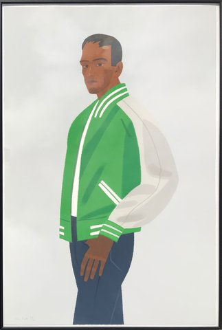 Alex Katz - Green Jacket, Print