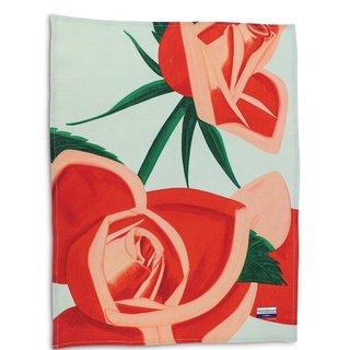 Red Rose Linen Tea Towel art for sale