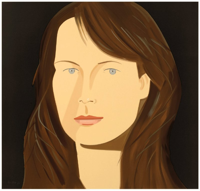 main work - Alex Katz, Sophia