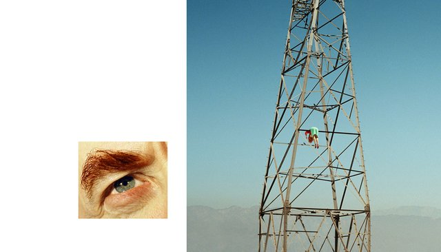 Alex Prager - 4:29 pm, Van Nuys and Eye #8 (Electric Tower) (diptych)
