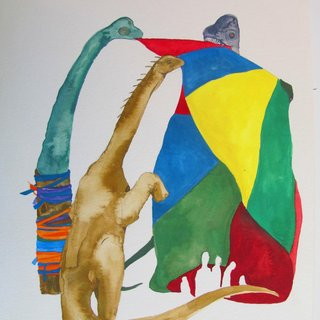Shrine for the Dinosaurs: Sauropods art for sale
