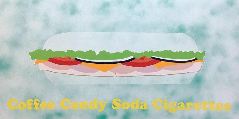 Alexander Deschamps - Coffee Candy Soda Cigarettes for Sale