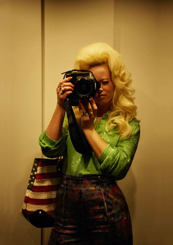 Alice Hawkins - Self-Portrait as Dolly Parton, Nashville 2011, Print