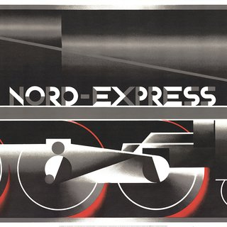 Nord-Express (RESTRIKE) art for sale
