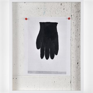 Untitled Still Life (BLACK GLOVE) art for sale