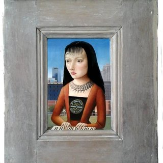 Woman with Bangs art for sale