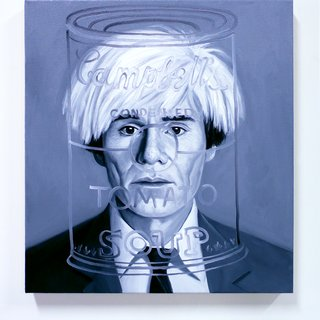 MEETING ANDY WARHOL, from the series THE INABILITY OF MEETING SOMEONE FAMOUS OBJECTIVELY  art for sale