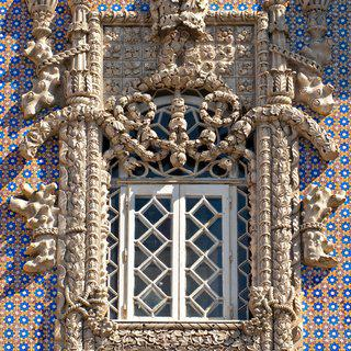 Manueline Window, Sintra art for sale