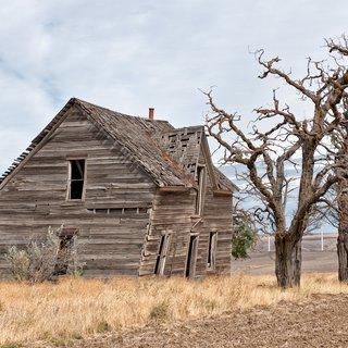 Abandoned Farmhouse, Biglow Canyon #1 art for sale
