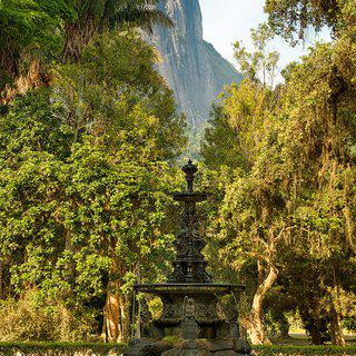 Jardim Botanico Fountain art for sale