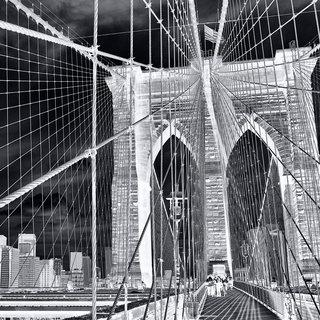 Andrew Prokos, Inverted Brooklyn Bridge