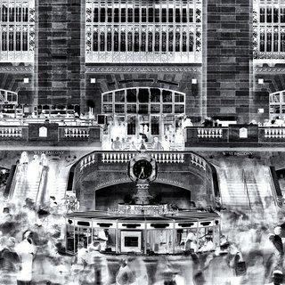 Inverted Grand Central art for sale