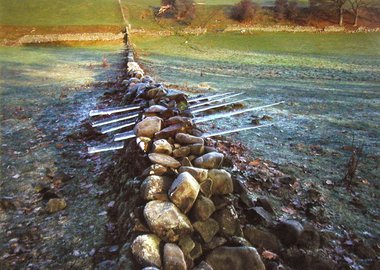 Andy Goldsworthy - Icicles and Wall, Scaur Glen, Dumfriesshire