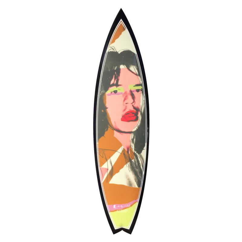 by after-andy-warhol - Mick Brown Surfboard
