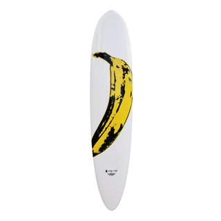 Banana Surfboard art for sale