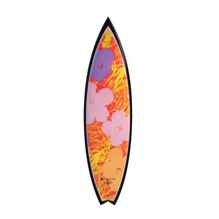 Flowers Pink Surfboard art for sale
