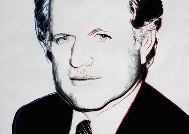 Andy Warhol - Edward Kennedy (FS II.240)