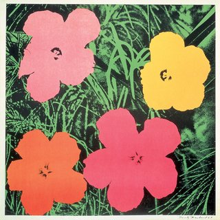 Andy Warhol, Flowers II.6 1964