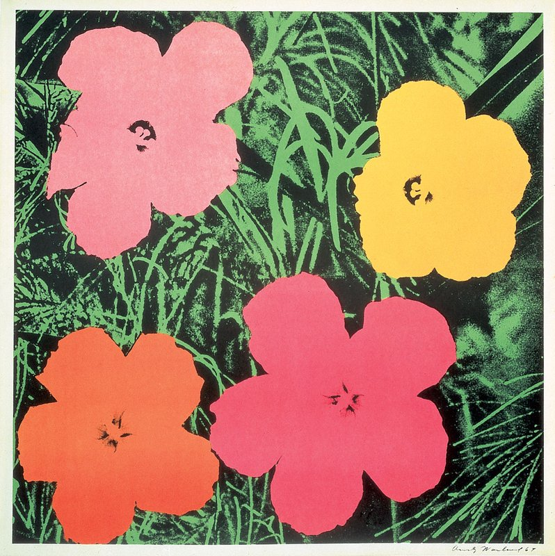by andy_warhol - Flowers II.6 1964