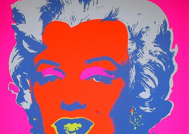 work by After Andy Warhol - Marilyn 11.22