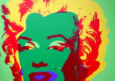After Andy Warhol - Marilyn 11.25