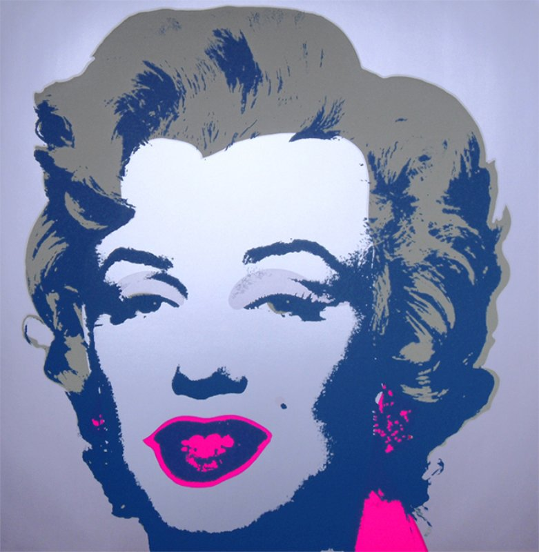 main work - After Andy Warhol, Marilyn 11.26