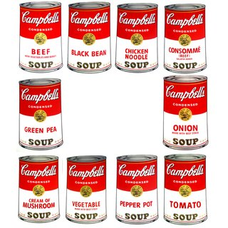 After Andy Warhol, Campbell's Soup portfolio