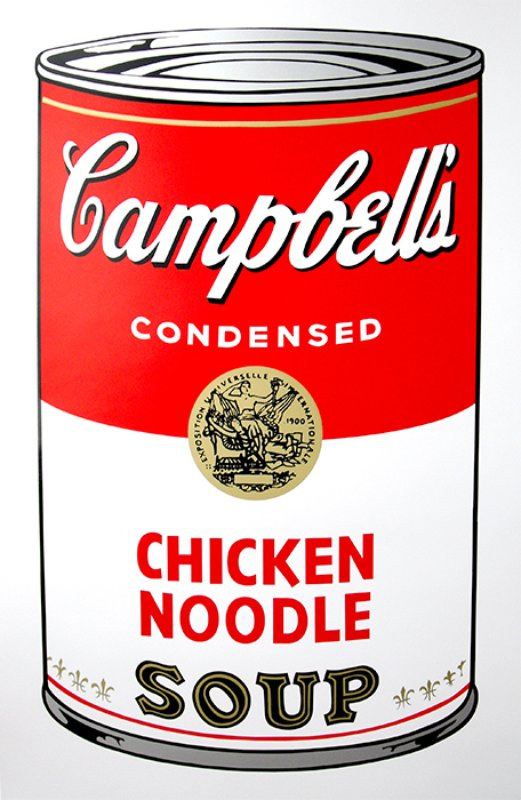 view:14253 - After Andy Warhol, Campbell's Soup portfolio -