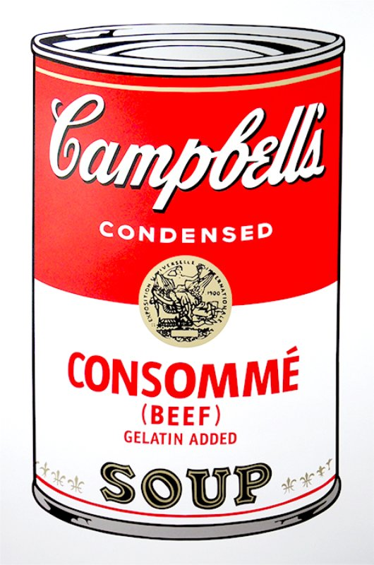 view:14254 - After Andy Warhol, Campbell's Soup portfolio -