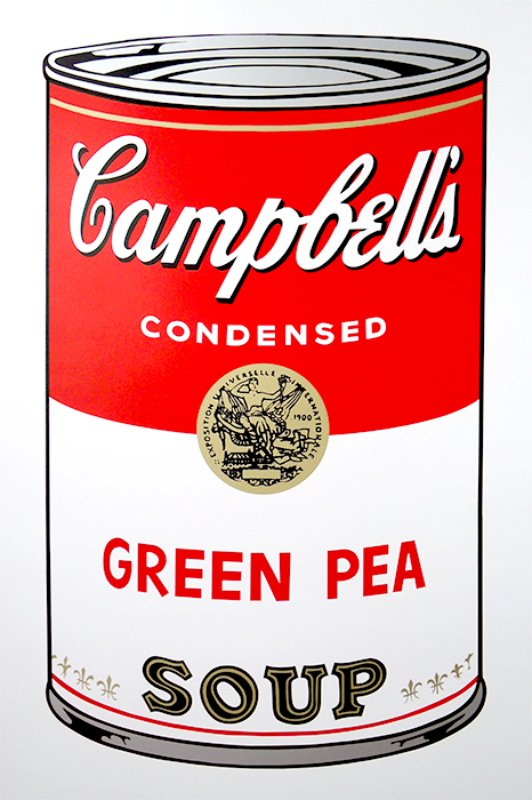 view:14255 - After Andy Warhol, Campbell's Soup portfolio -