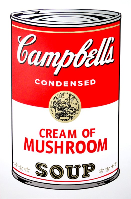 view:14256 - After Andy Warhol, Campbell's Soup portfolio -