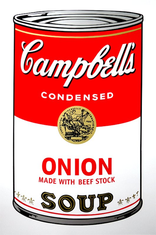 view:14257 - After Andy Warhol, Campbell's Soup portfolio -