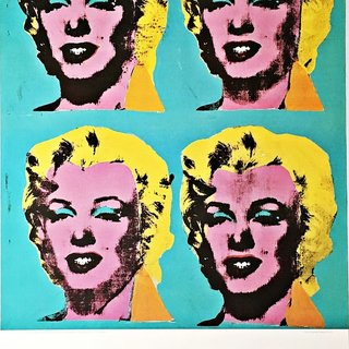 Four Marilyns (Hand Signed by Andy Warhol) art for sale