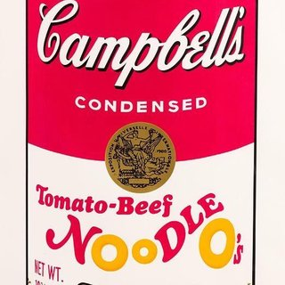 CAMPBELL'S SOUP II: TOMATO-BEEF NOODLE O'S 61 art for sale