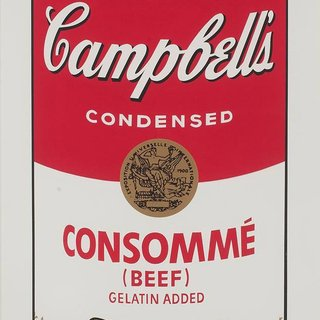 Campbell's Soup I: Consommé (FS II.52) art for sale