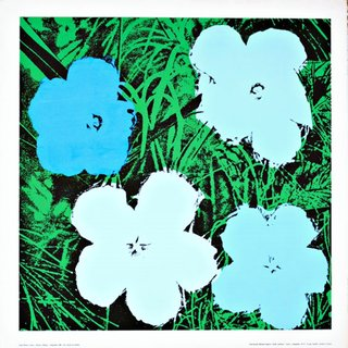 Flowers (Blue) art for sale