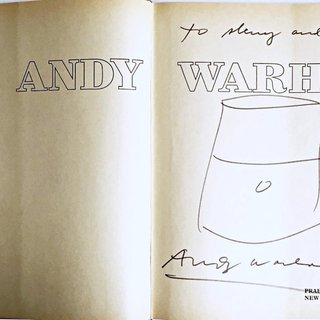 Original Soup Can Drawing, inscribed to Warhol pal and Rock & Roll hall of famer art for sale