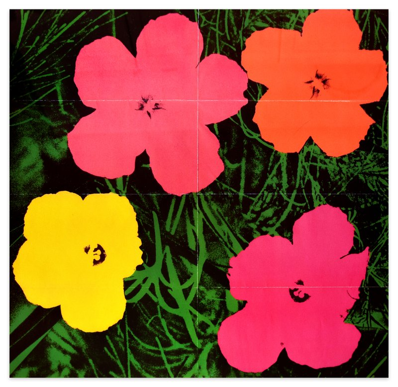 by andy_warhol - Flowers Original Mailer