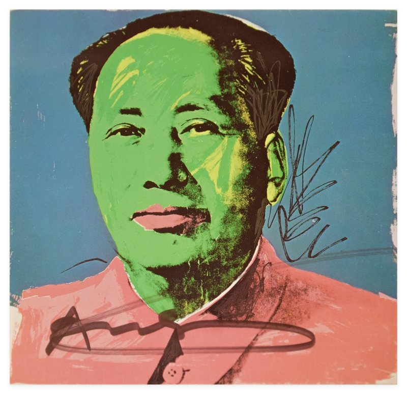 by andy_warhol - Mao Tse-Tung