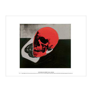 Skull (red) art for sale