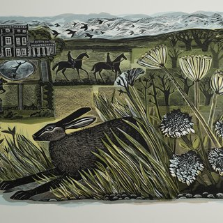 Newby Hare art for sale