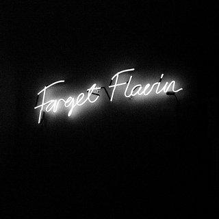 Forget Flavin (NY Version, English) art for sale