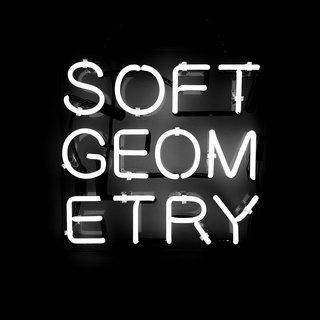 Soft Geometry Text art for sale