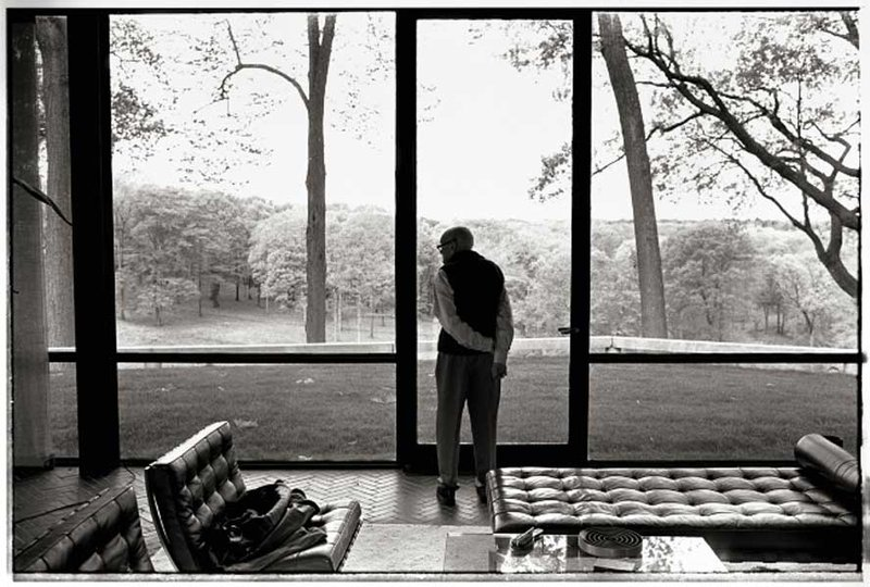 by annie_leibovitz - Philip Johnson, New Canaan, Connecticut, 2002