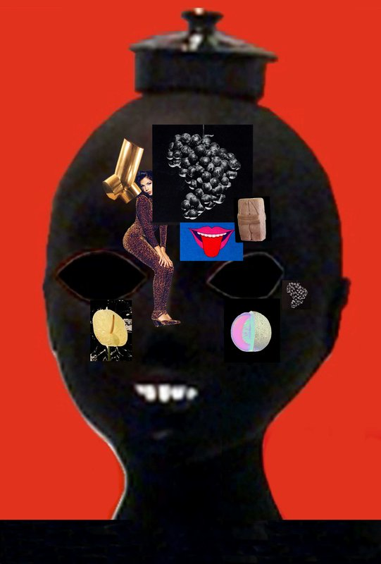 main work - Anthea Hamilton & Nicholas Byrne, What's on Your Mind Grapes?