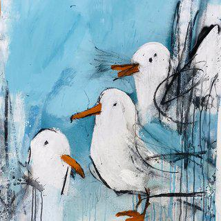 Seagulls #4 art for sale