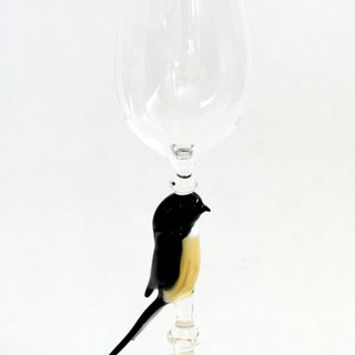 Bell shaped wine glass art for sale