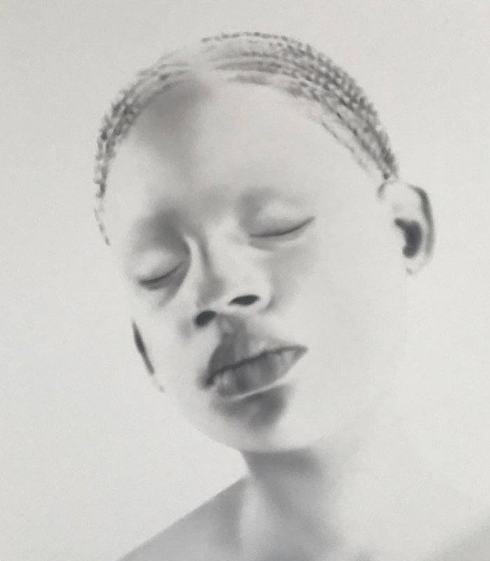 main work - Ashley Oubré, Untitled (Albino Girl)